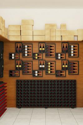 En las tiendas donde venden vinos también podrás conseguir variedad de cajas.