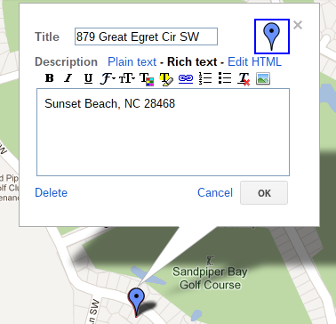 Making a Map of Attractions for your Vacation Rental on Google Maps