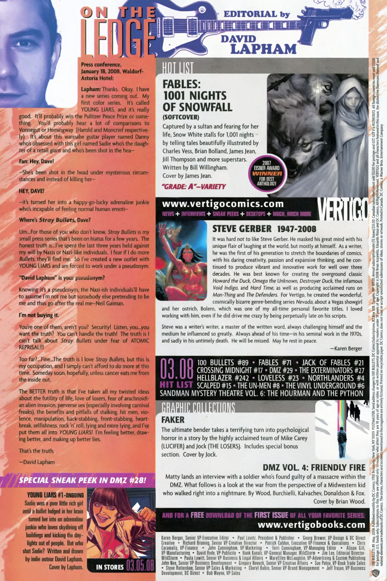 Read online 100 Bullets comic -  Issue #89 - 24