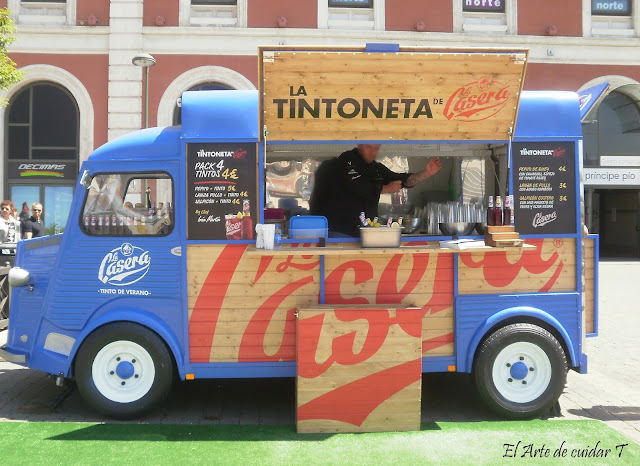 Food truck CC Príncipe Pio