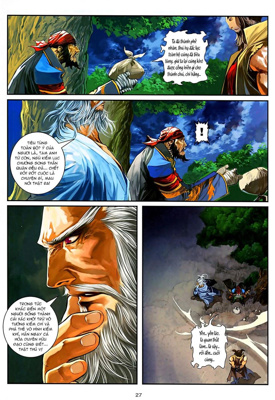 Ôn Thuỵ An Quần Hiệp Truyện Phần 2 chapter 30 trang 28