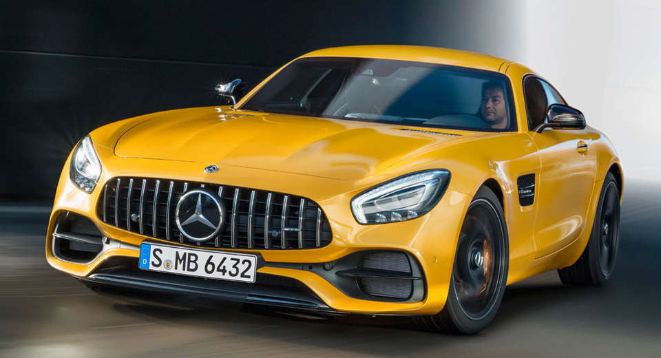 mercedes amg gt c coupe heralds facelifted range in detroit. Black Bedroom Furniture Sets. Home Design Ideas