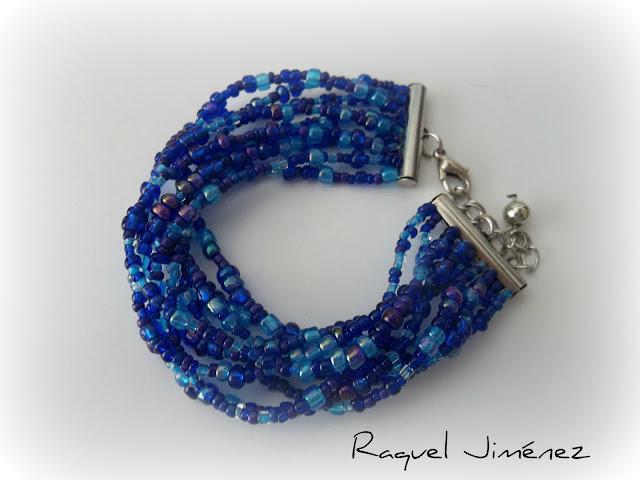 pulsera azul Klein