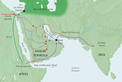 When Arabia was green: Lush grasslands helped early man make leap out of Africa