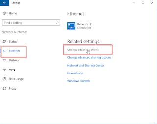 Cara Ganti Ip Address Di Sistem Operasi Windows 10