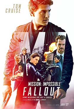 Mission Impossible Fallout 2018 Hindi Dubbed 300MB HDRip 480p