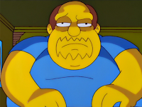 Simpson's Comic Book Guy