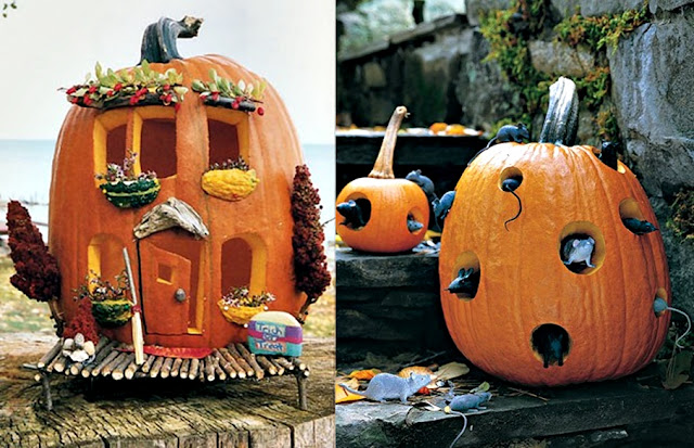 Pop Culture And Fashion Magic Halloween Pumpkins Carving And