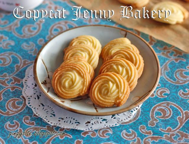 Copycat Jenny Bakery Butter Cookies 山寨珍妮牛油曲奇