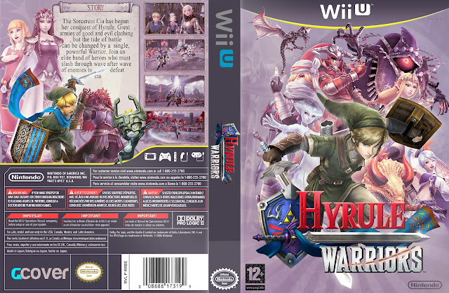 Capa Hyrulle Warriors Wii U [Exclusiva]