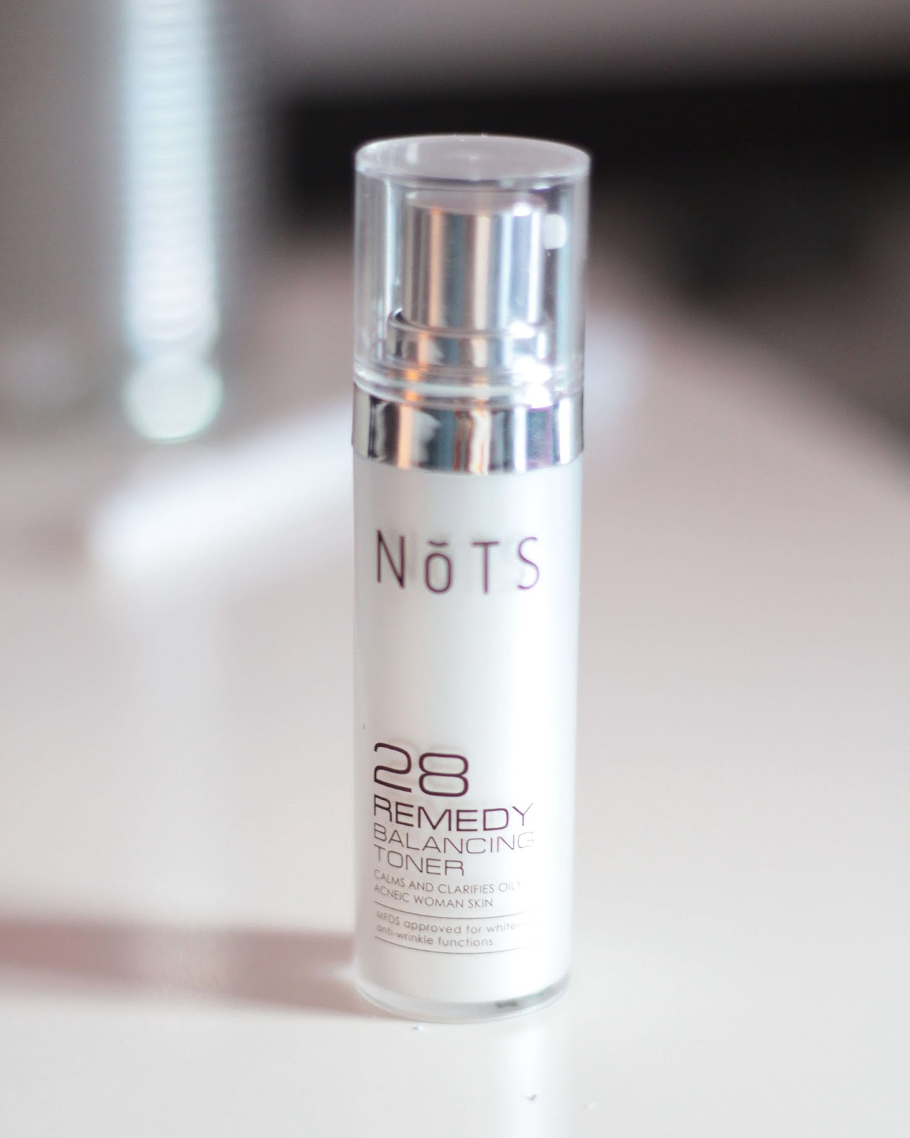 NoTS 28 Remedy Balancing Toner review