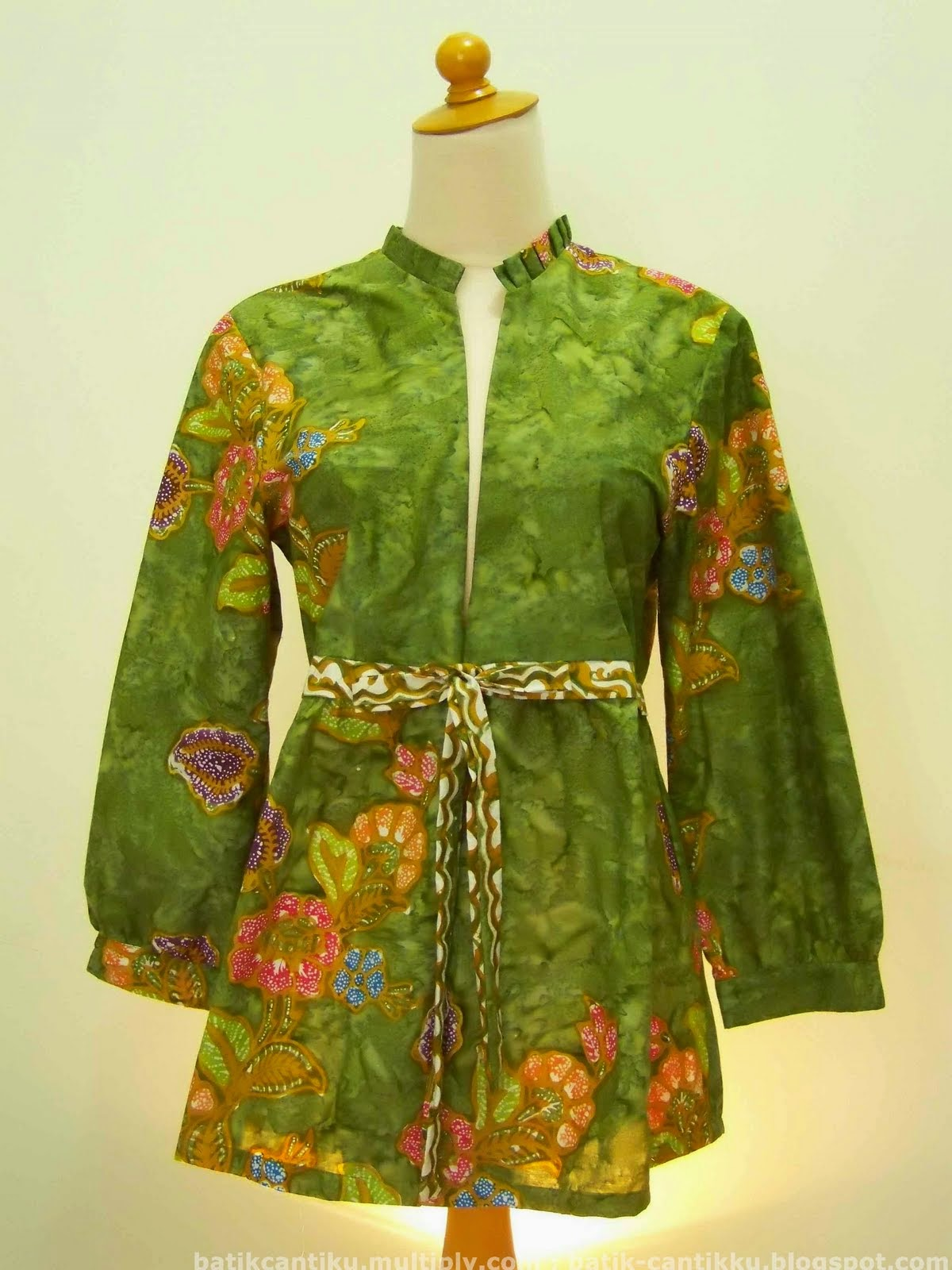 Contoh Model Baju Batik Hamil Untuk Kerja