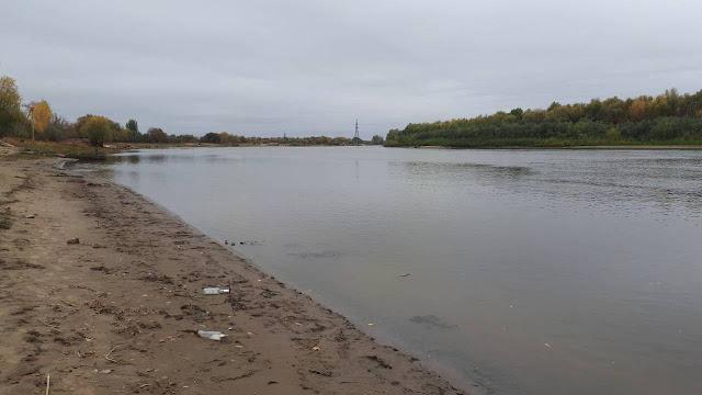 Пляж в микрорайоне Бабаевского