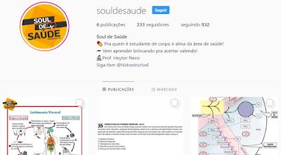 Voltei e agora no Instagram também! Conheça o @souldesaude e o @histoeincrivel