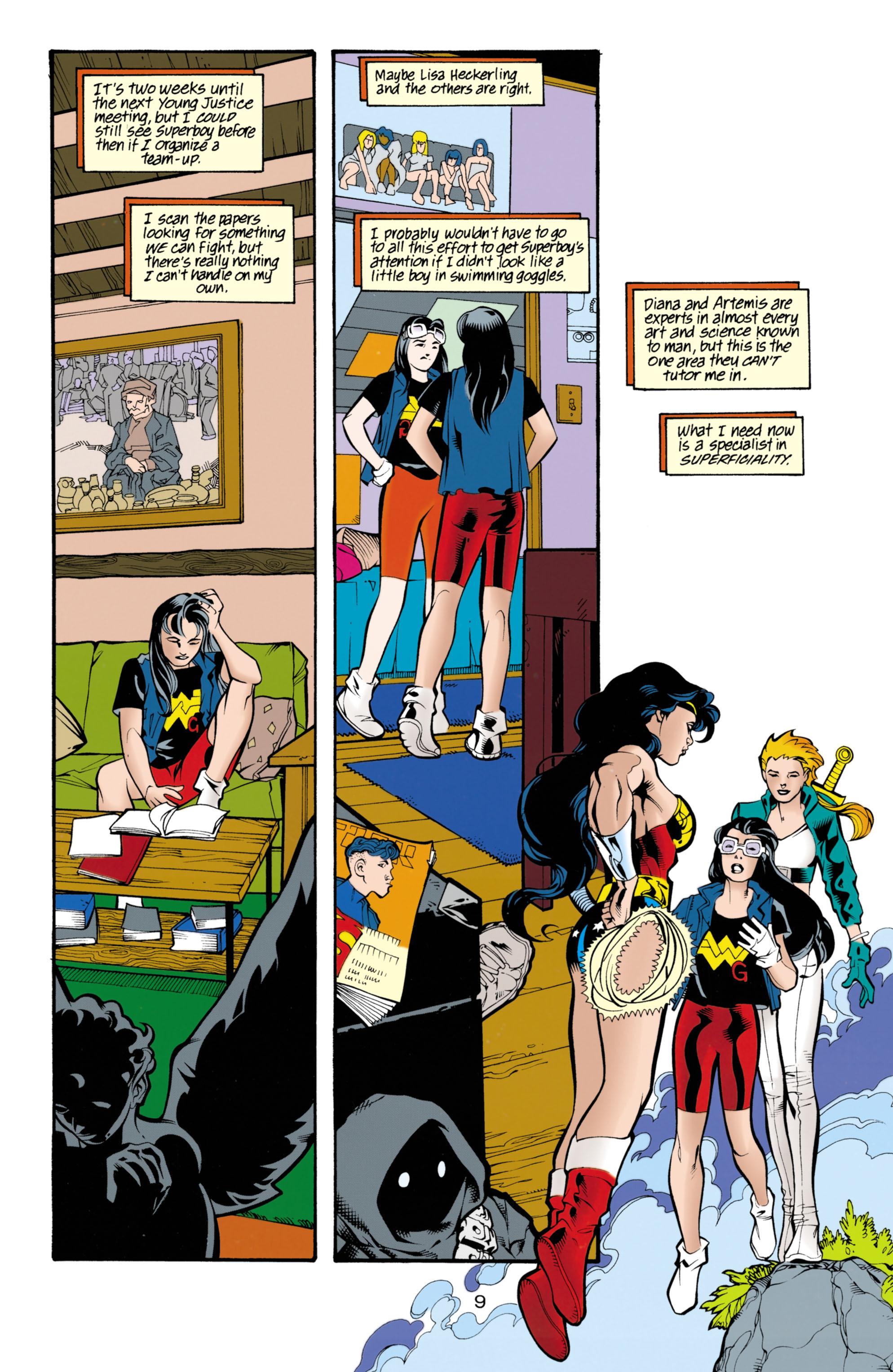 Read online Wonder Woman (1987) comic -  Issue #153 - 10