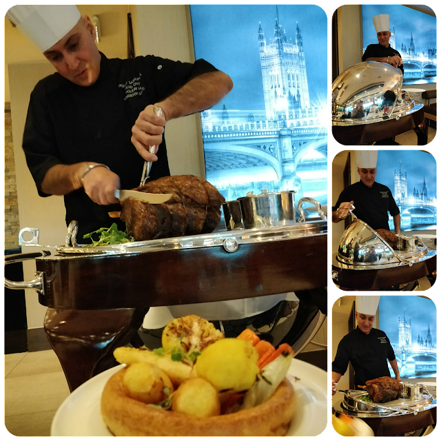 vintage carvery trolley at Holiday Inn Kingston South, Jack's Kitchen  #review