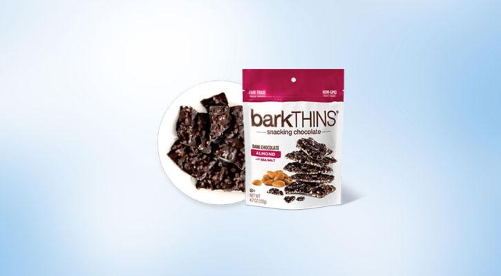 barkThins Dark Chocolate Almond with Sea Salt - Global