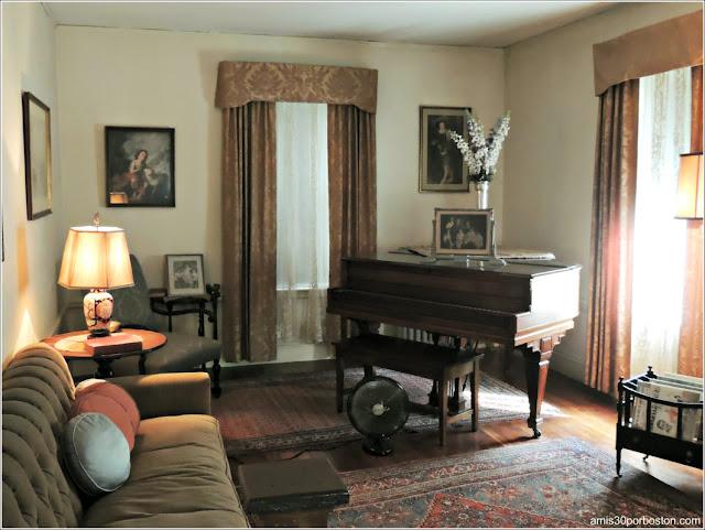 Casa de Nacimiento de Jonh F. Kennedy: Salón
