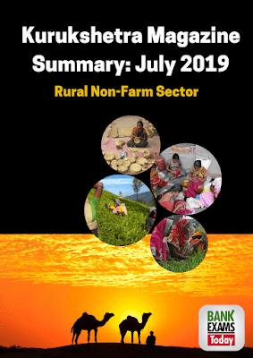 Kurukshetra Magazine Summary: July 2019