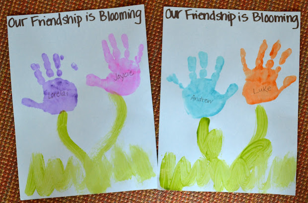 Preschool Friendship Arts and Crafts