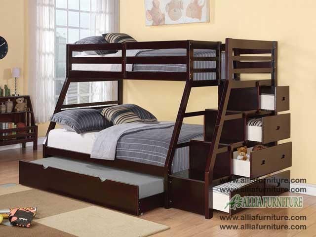 tempat tidur anak susun texas