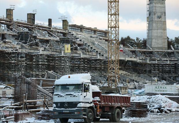 """ΑΕΚ: Νεκρός εργάτης στα έργα για την """"Αγιά Σοφιά"""""""