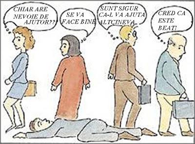 Efectul psihologic Bystander