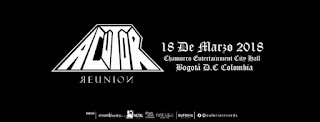 ACUTOR REUNION en Bogotá 2018 Poster 1
