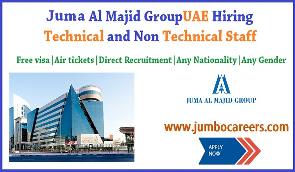 Direct recruitment jobs in UAE, Latest UAE jobs for Indians, Sales Engineer jobs in Dubai for Indians , Juma Al Majid UAE job salary