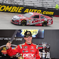 Burton is coming off his first K&N East win at Bristol Motor Speedway two weeks ago. #nascar