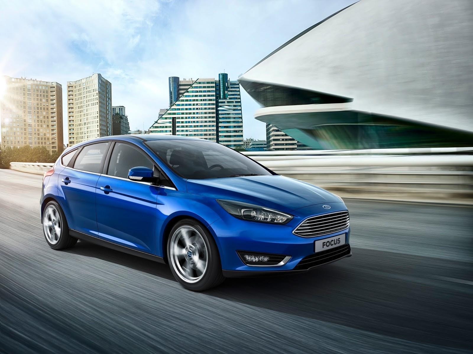 NewFordFocus 06 Το νέο Ford Focus 1.5L diesel καταναλώνει μόλις 3,4lt/100Km και έχει μηδενικά τέλη κυκλοφορίας