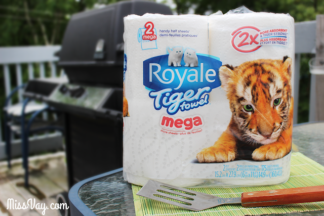 Tiger Towel Royale barbecue #Propreentigre