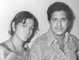 Vishnuvardhan with Bharathi