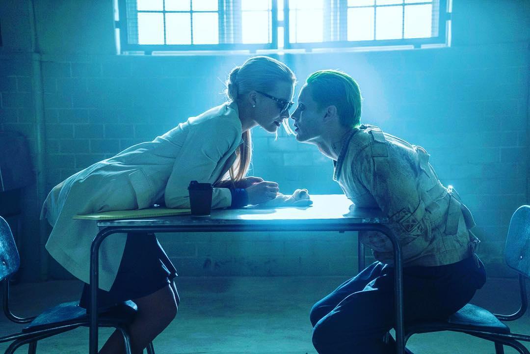 """Harley Quinn y el Joker en """"Escuadrón Suicida"""""""