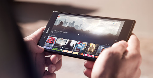 Watching movies in Xperia Z Ultra
