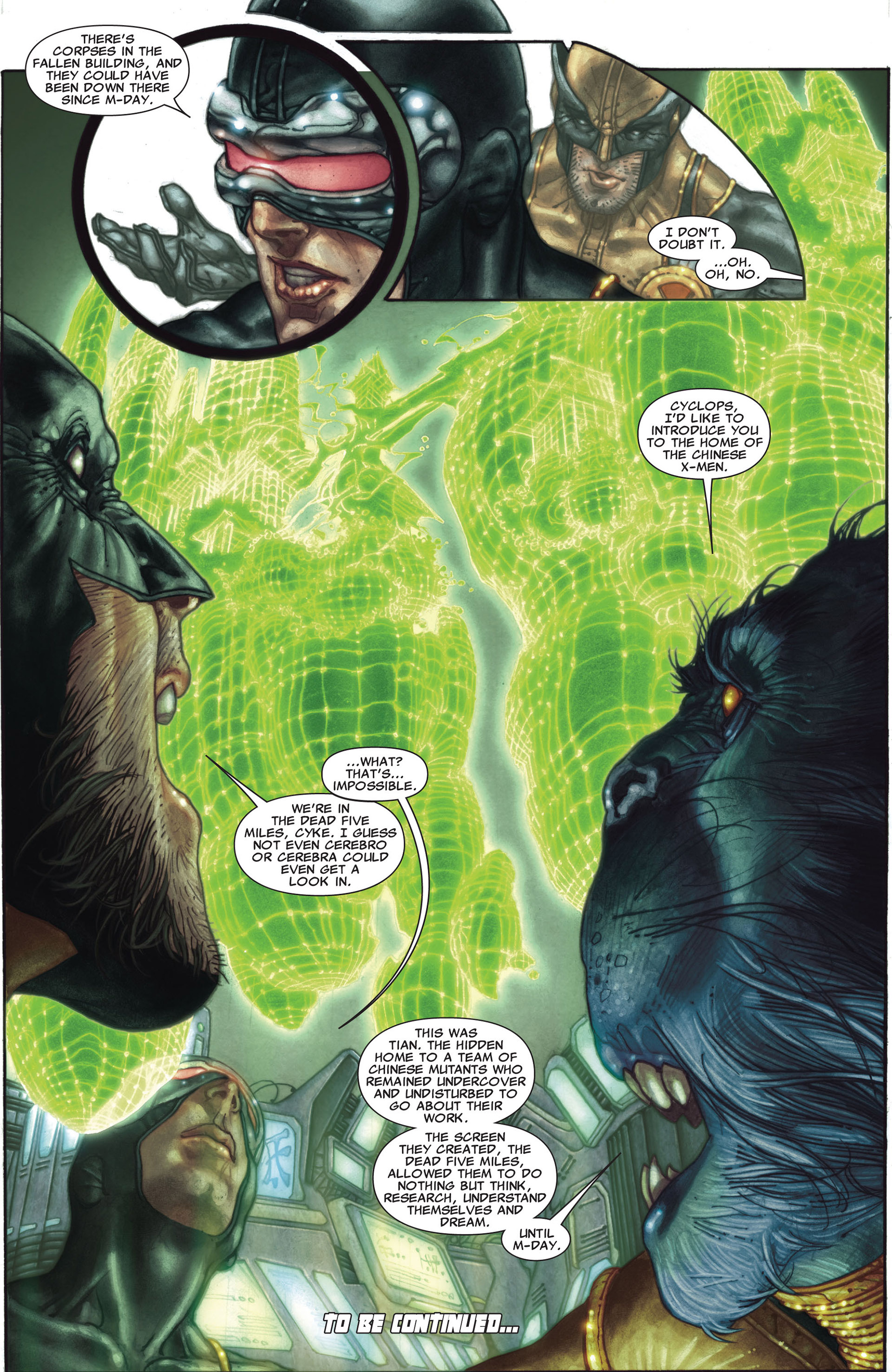 Read online Astonishing X-Men (2004) comic -  Issue #27 - 23
