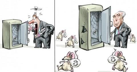 Resultado de imagem para temer comprando votos