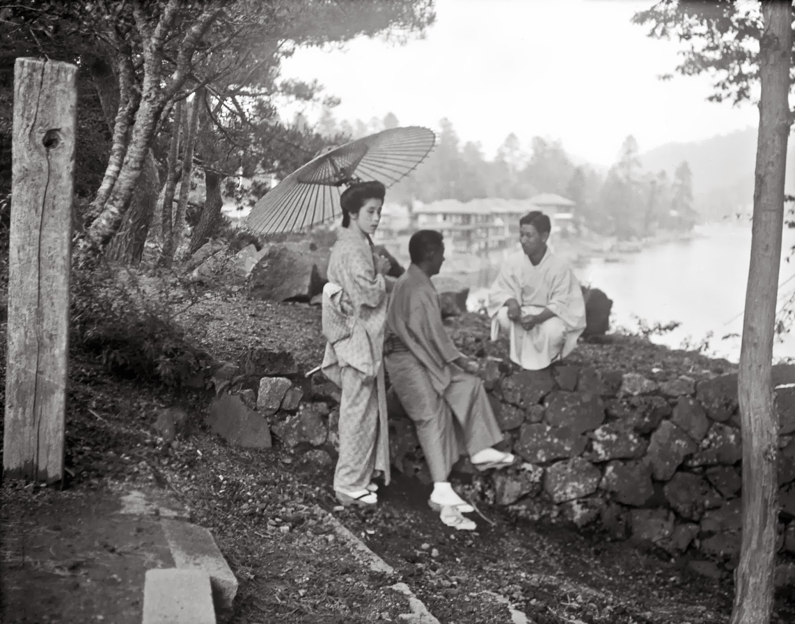 Rare Vintage Photographs Of Japans Daily Life Taken By -6156