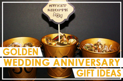Golden Wedding Anniversary Gift Ideas For The Ones You Love