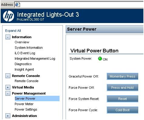Linux: Everything about Linux: HP Integrated Lights-Out 3