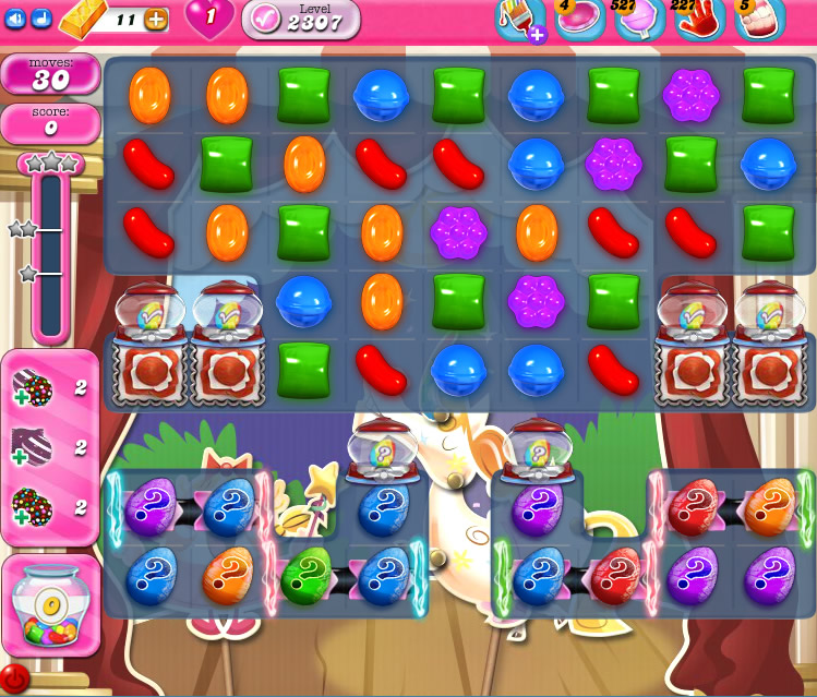 Candy Crush Saga level 2307