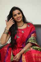 Manasa in Pink Salwar At Fashion Designer Son of Ladies Tailor Press Meet Pics ~  Exclusive 23.JPG