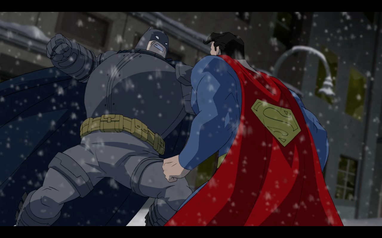 Watch Batman vs. Superman in THE DARK KNIGHT RETURNS - The ...