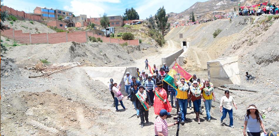 Se intervino ríos Wilajahuira en Los Rosales y Lakacollo en Ovejuyo