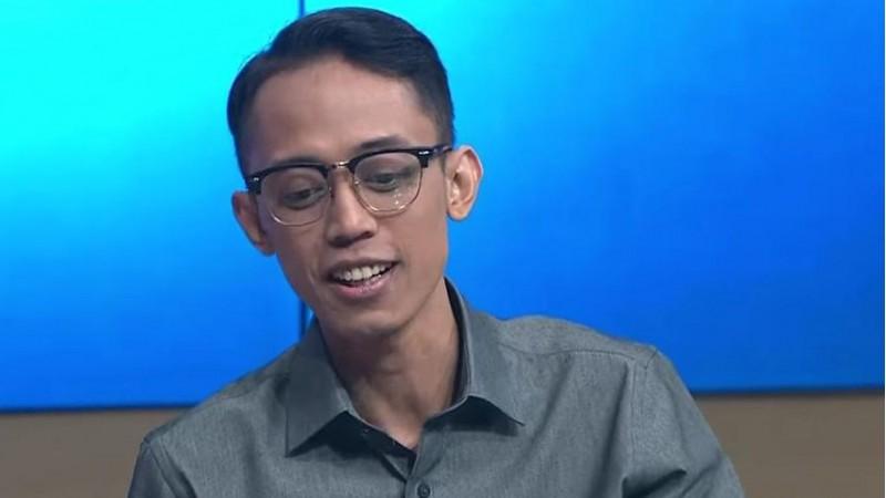 Ario Kiswinar Teguh saat tampil di media