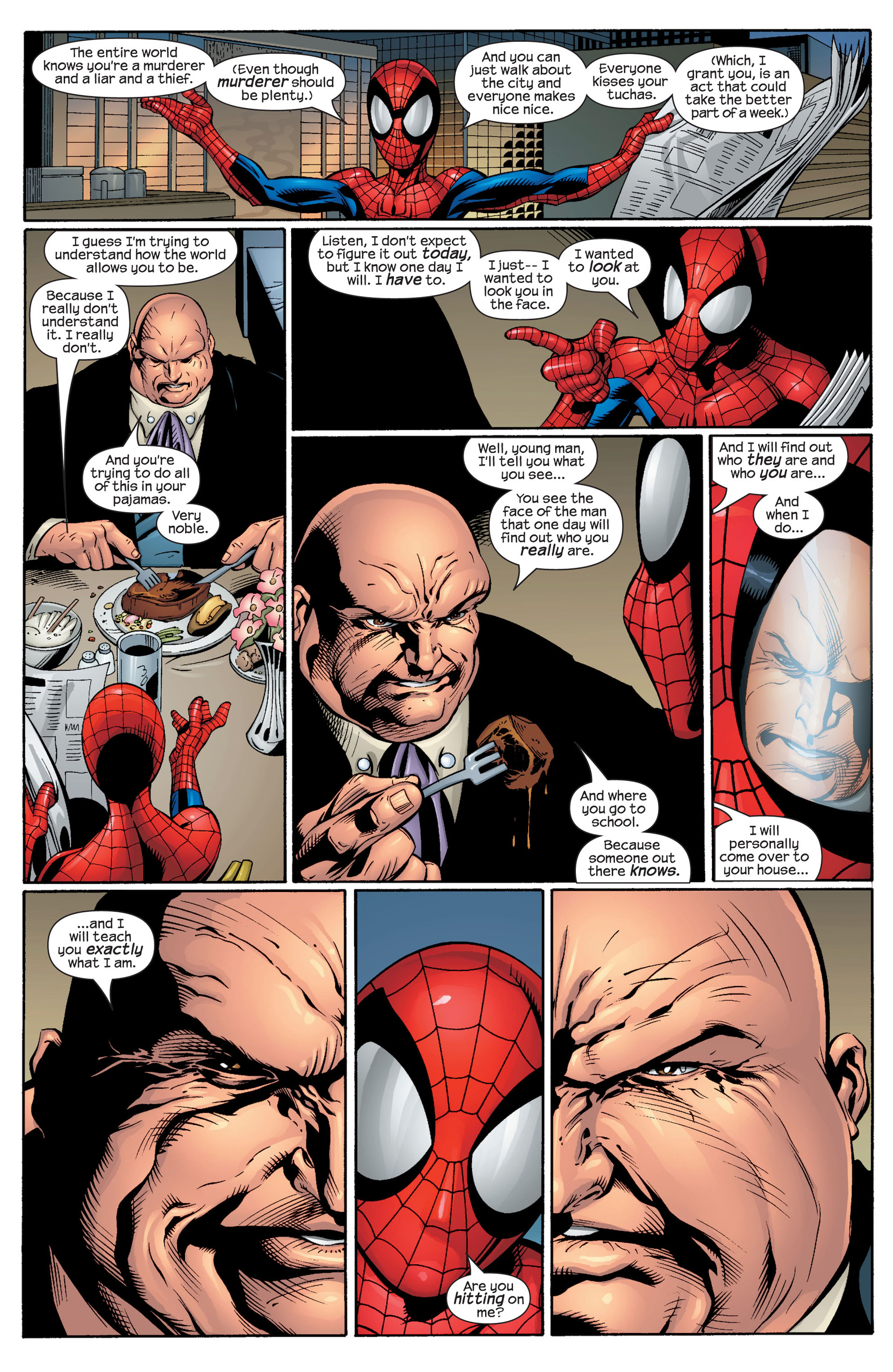 Read online Ultimate Spider-Man (2000) comic -  Issue #49 - 23