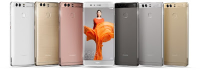 Huawei P9 Official Colours