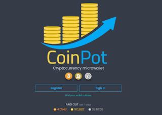 شرح CoinPot لربح البيتكوين