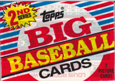 A Pack To Be Named Later 1988 Topps Big Baseball Series 2