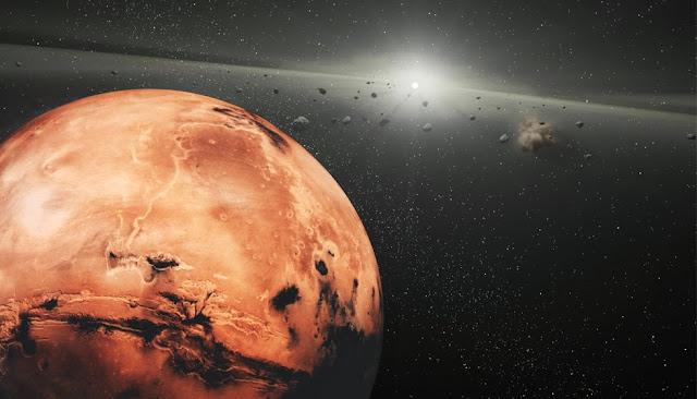 asteroid mars earth - photo #2